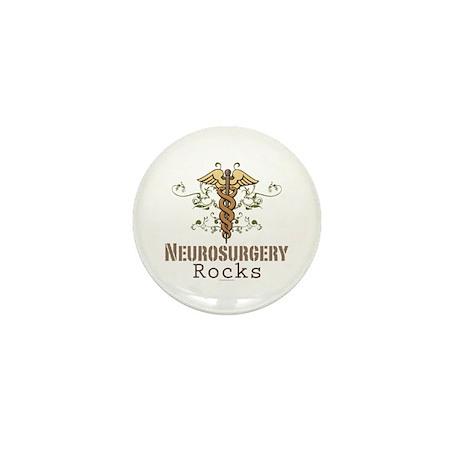Neurosurgery Rocks Mini Button (10 pack)
