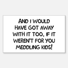 And Meddling Kids Sticker (Rectangle)