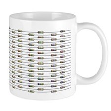 168 Unlabeled Resistors Mug