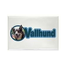 Vallhund Design Rectangle Magnet