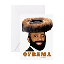 OYBAMA Greeting Card
