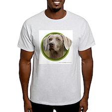 Weimaraner Art Ash Grey T-Shirt
