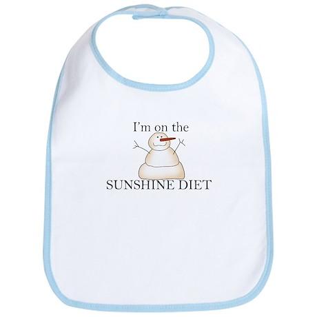 Sunshine Diet Bib