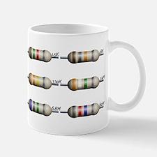 12 Standard resistors Mug