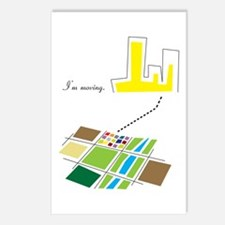 I'm Moving Postcards (Package of 8)