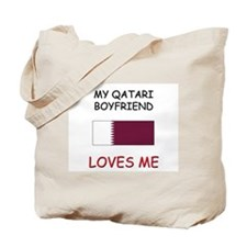 My Qatari Boyfriend Loves Me Tote Bag