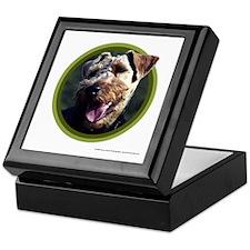 Welsh Terrier Art Keepsake Box