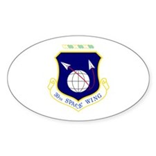 30th Oval Decal