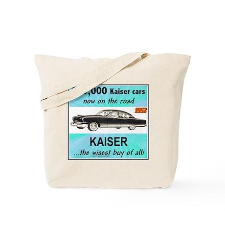 """1952 Kaiser Ad"" Tote Bag"