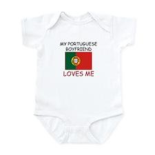 My Portuguese Boyfriend Loves Me Infant Bodysuit