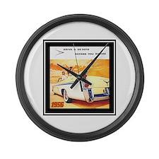 """""""1956 DeSoto Ad"""" Large Wall Clock"""
