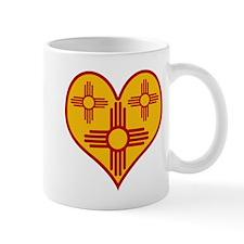New Mexico Zia Heart Mug