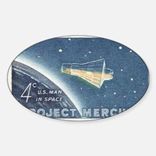 Project Mercury Oval Decal