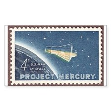 Project Mercury Rectangle Decal
