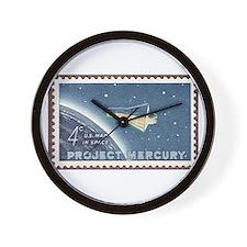 Project Mercury Wall Clock
