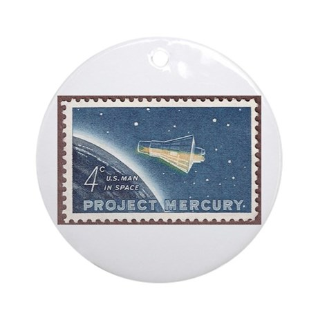 Project Mercury Ornament (Round)