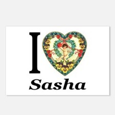 I (Heart) Sasha Postcards (Package of 8)