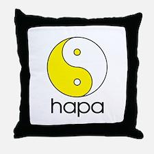 Hapa Yin-Yang Throw Pillow