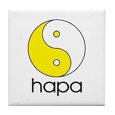 Hapa Yin-Yang Tile Coaster