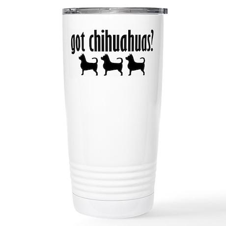 Got Chi's? (3) Stainless Steel Travel Mug