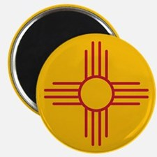 """New Mexico State Flag 2.25"""" Magnet (10 pack)"""