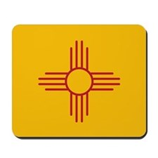 New Mexico State Flag Mousepad