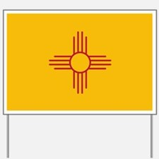 New Mexico State Flag Yard Sign