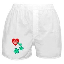 Cute Colorful turtle Boxer Shorts