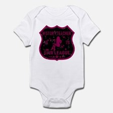 History Teacher Diva League Infant Bodysuit