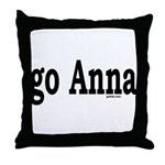 go Anna Throw Pillow