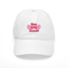 Nana Loves Jackson Baseball Cap