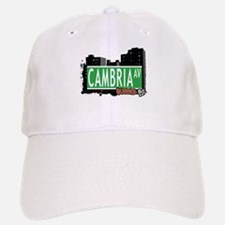 CAMBRIA AVENUE, QUEENS, NYC Baseball Baseball Cap