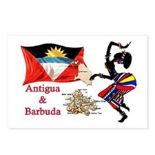 Antigua & Barbuda  Postcards (Package of 8)