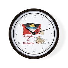 Antigua & Barbuda Wall Clock