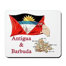 Antigua & Barbuda Mousepad