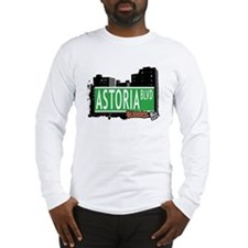 ASTORIA BOULEVARD, QUEEN, NYC Long Sleeve T-Shirt