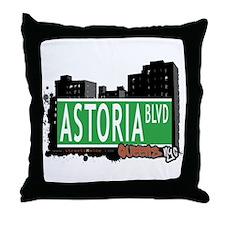 ASTORIA BOULEVARD, QUEEN, NYC Throw Pillow
