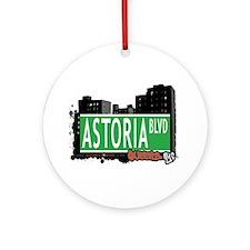 ASTORIA BOULEVARD, QUEEN, NYC Ornament (Round)