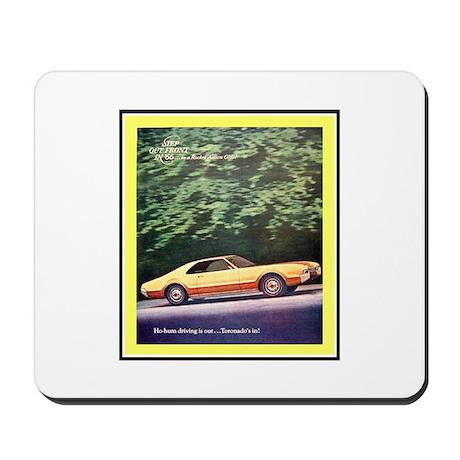 """""""1966 Toronado Ad"""" Mousepad"""