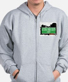 ASTORIA PARK SOUTH STREET, QUEENS, NYC Zip Hoodie