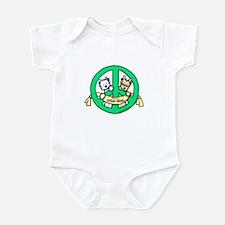 PEACE Terriers Infant Bodysuit
