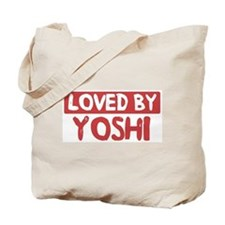 Loved by Yoshi Tote Bag