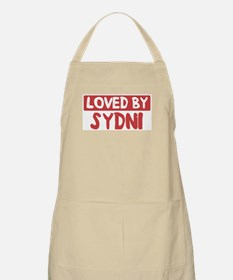 Loved by Sydni BBQ Apron