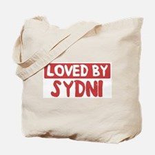 Loved by Sydni Tote Bag