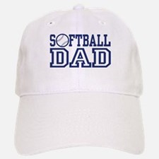Softball Dad Baseball Baseball Cap