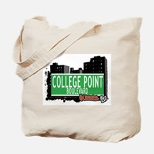 COLLEGE POINT BOULEVARD, QUEENS, NYC Tote Bag
