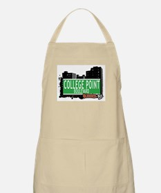 COLLEGE POINT BOULEVARD, QUEENS, NYC BBQ Apron