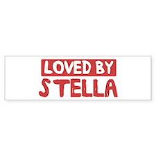 Loved by Stella Bumper Bumper Stickers