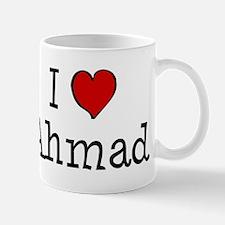 I love Ahmad Mug