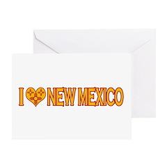 I Love New Mexico Greeting Card